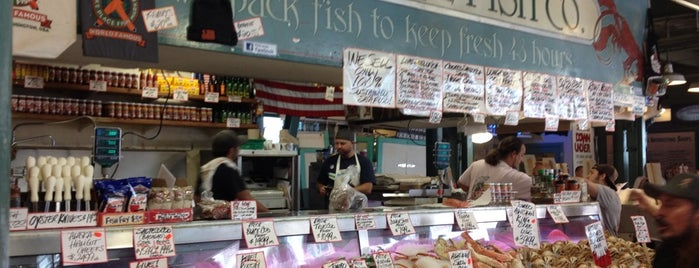 Pike Place Fish Market is one of Seattle; Vancouver & Whistler.