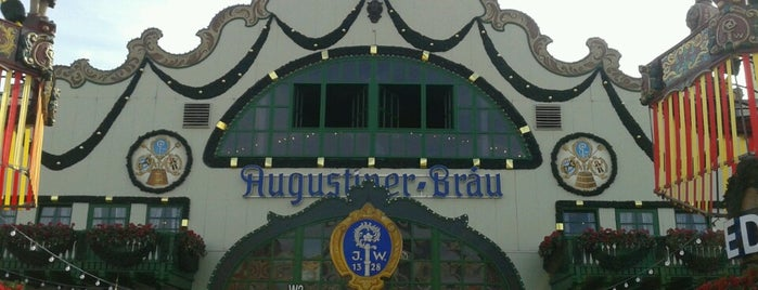 Augustiner-Festhalle is one of Октобертур 2017.