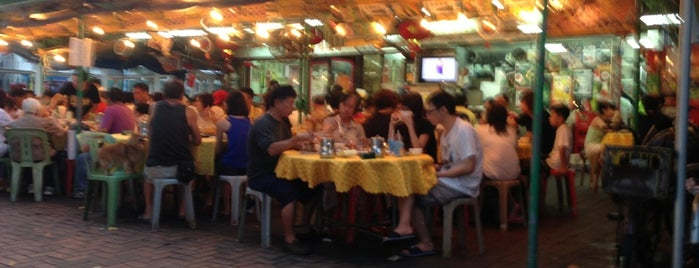 New Baccarat Seafood Restaurant 新金湖海鮮菜館 is one of Foods.
