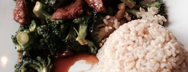 Green Leaf Vegetarian Restaurant is one of Faves.