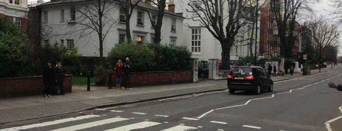 Abbey Road Studios is one of London.