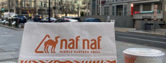 Naf Naf Middle Eastern Grill is one of Baltimore / DC / Virginia / Delaware.