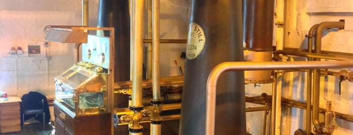 Bruichladdich Distillery is one of The New Yorker.