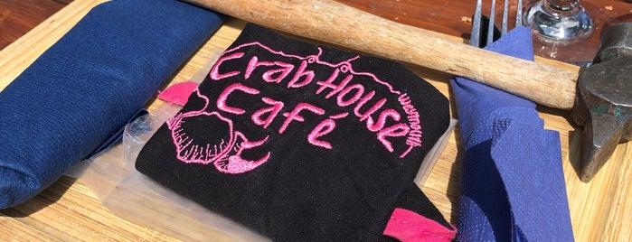 Crab House Cafe is one of Orte, die Thomas gefallen.