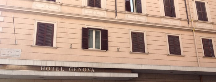 Hotel Genova Rome is one of Roma Otel.