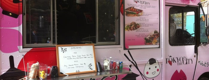 Tokyo In The City is one of Washington DC Food Trucks.