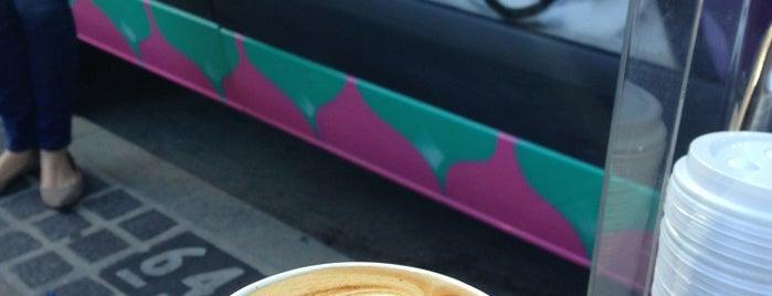 Brew Coffee Truck is one of Real Coffee in DTLA.
