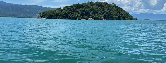 Ilha do Mantimento is one of Paraty.