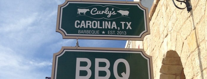 Curly's Carolina, TX is one of Austin Restaurants to Try.
