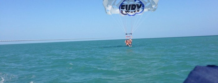 Fury Parasail is one of Key West.
