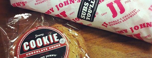 Jimmy John's is one of Phelan Eats.