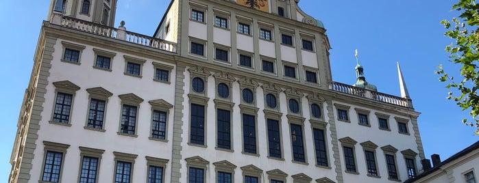 Rathaus Augsburg is one of Hasretgul'un Beğendiği Mekanlar.