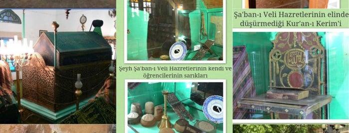 Hz Pir Şeyh Şabanı Veli  Türbe is one of Mehmet'in Beğendiği Mekanlar.