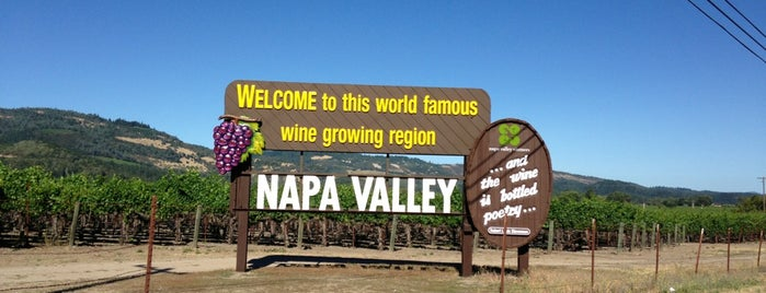 Napa Valley is one of US Landmarks.