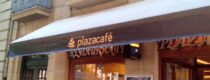Plaza Café is one of SanSeb.