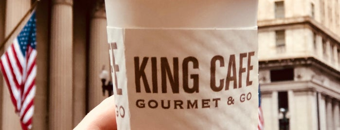 King Cafe Gourmet & Go is one of Posti che sono piaciuti a Michael.