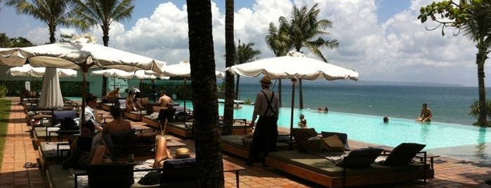 Potato Head Beach Club is one of Bali's top eat outs.