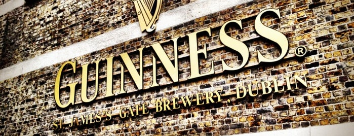 Guinness Storehouse is one of Dublin, Ireland.