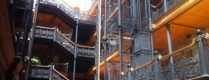 Bradbury Building is one of SoCal Musts.