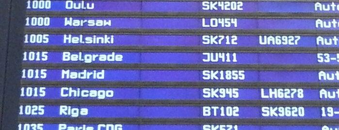Международный аэропорт Стокгольм-Арланда (ARN) is one of Airports Worldwide....