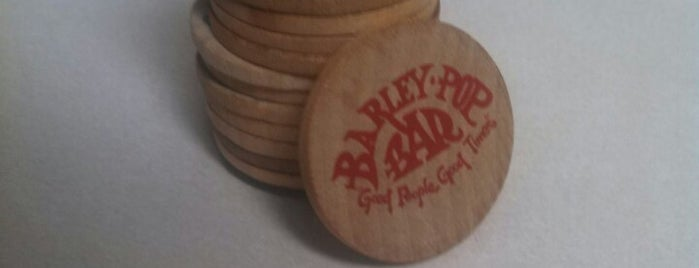 The Barley Pop is one of Minot, ND.