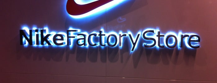 Nike Factory Store is one of Lugares favoritos de Ian.