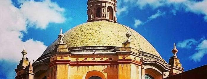 Templo de San Francisco de Asis is one of Queretaro San Miguel.