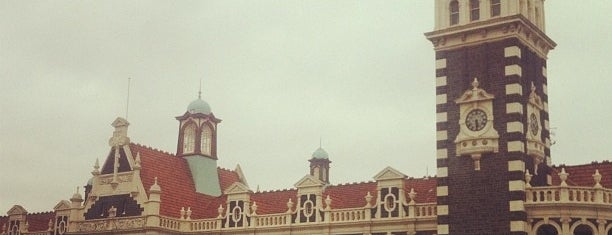 Dunedin Railway Station is one of NZ.
