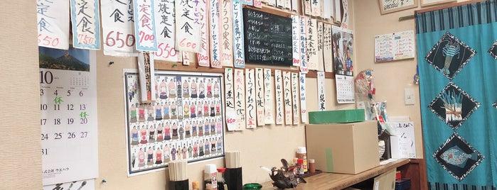 定食・うなぎ 食事処 三上 is one of とり : понравившиеся места.
