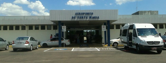 Aeroporto de Santa Maria (RIA) is one of Lugares favoritos de Aline.