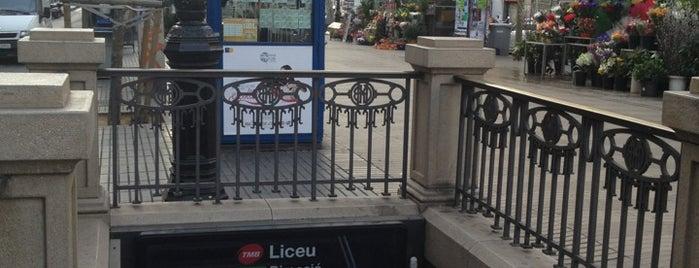 METRO Liceu is one of Sitios por los que estar en Barcelona.