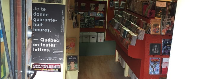 Librairie Première Issue is one of Quebec 2015.