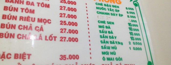 Bánh đa cua Hải Phòng is one of ăn hàng.