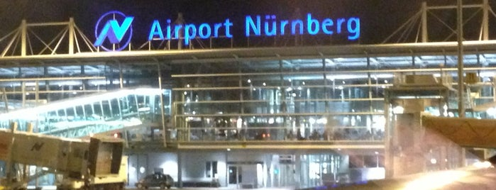 Albrecht Dürer Airport Nürnberg (NUE) is one of สถานที่ที่ Nina ถูกใจ.