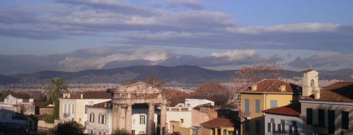 Plaka is one of Athen.