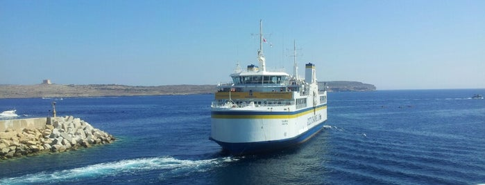 Cirkewwa Ferry Terminal is one of Malta.