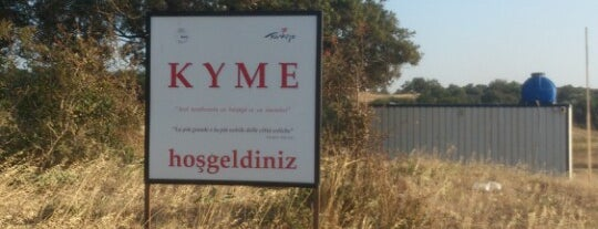 Kyme Antik Kent is one of İZMİR.