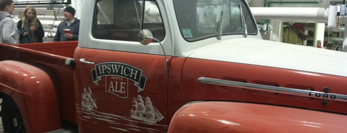 Ipswich Ale Brewery is one of Massachusetts Craft Brewers Passport.