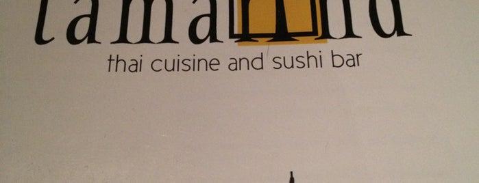 Tamarind Thai Cusine is one of Asheville.