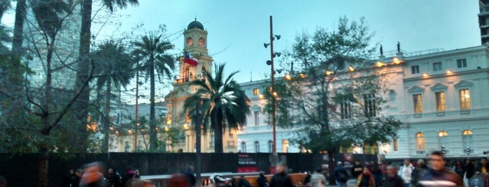 Plaza de Armas is one of Chile!.