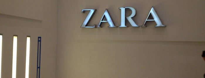 ZARA is one of Tempat yang Disukai Sandy.