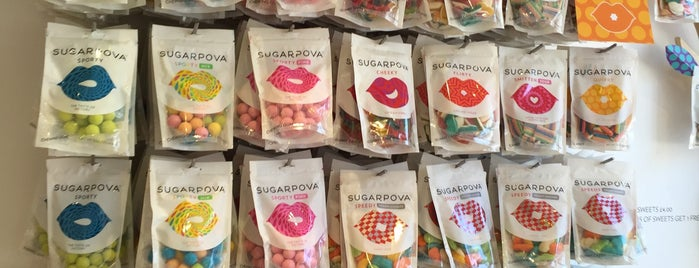 Sugarpova Pop-up Shop & Lounge is one of Spring Famous London Story.