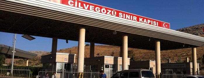 Cilvegözü Sınır Kapısı is one of Tempat yang Disukai Cemil.