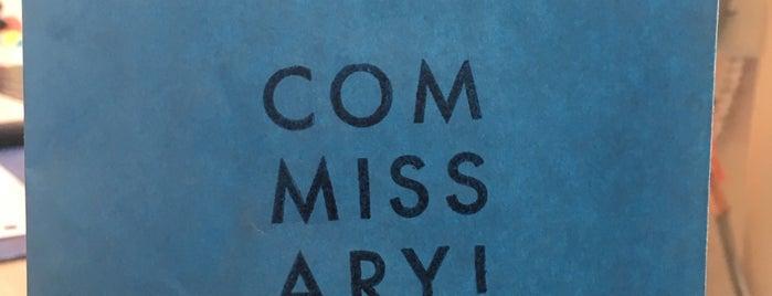Commissary! is one of Orte, die Brandon gefallen.