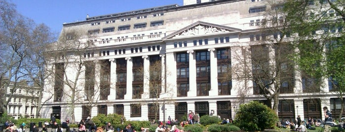 Bloomsbury Square is one of London Cultural.