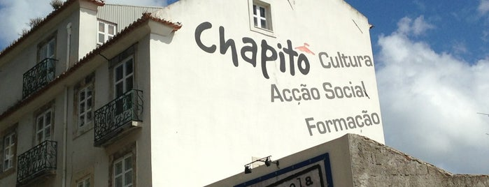 Chapitô is one of Lisbon Recommendations.