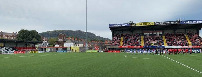 Crusaders FC is one of Belfast.