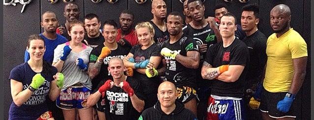 Muay Thai MMA Square Circle New York is one of Tempat yang Disukai Christina.