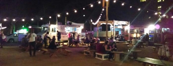 Rainey Street Outdoor Food Trucks is one of austin city limits.