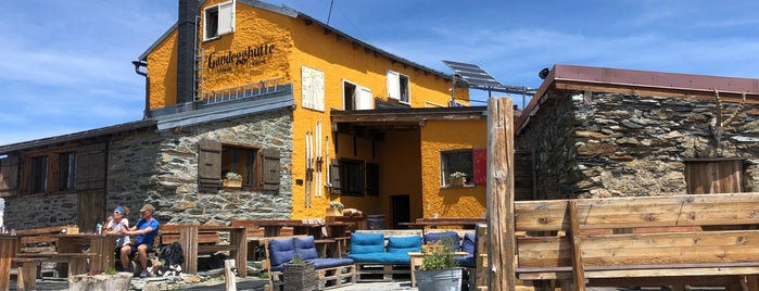 Gandegg Hütte is one of Juha's Top 200 Wine & Cocktail List.